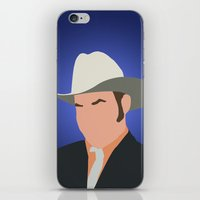 anchorman iPhone & iPod Skins featuring Champ Kind - Anchorman by Tom Storrer