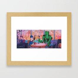 Radio LOCCENT Framed Art Print