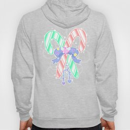 Candy Canes: Fairy Kei Version Hoody