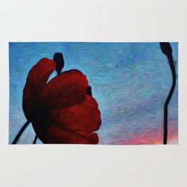 Poppy Sunset Rug