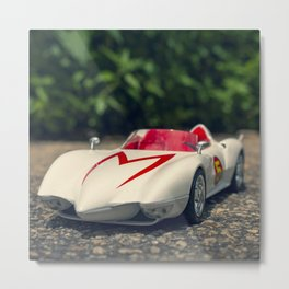 Go Race Speeder! Metal Print