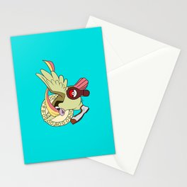 Bird Jesus is Clown Shoes Stationery Cards