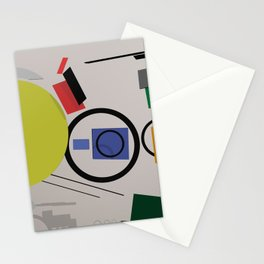 Abstract Composition 232 Stationery Cards