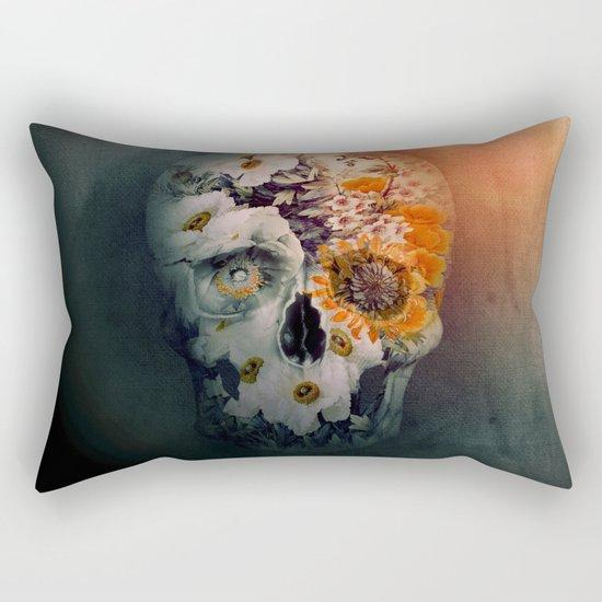 Skull Still Life II Rectangular Pillow