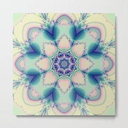 Spring in pastels with fantasy flower Metal Print