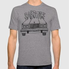 BEASTIE BOYS Y'ALL Mens Fitted Tee Athletic Grey SMALL