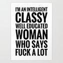INTELLIGENT, CLASSY WOMAN (Black Art) by creativeangel