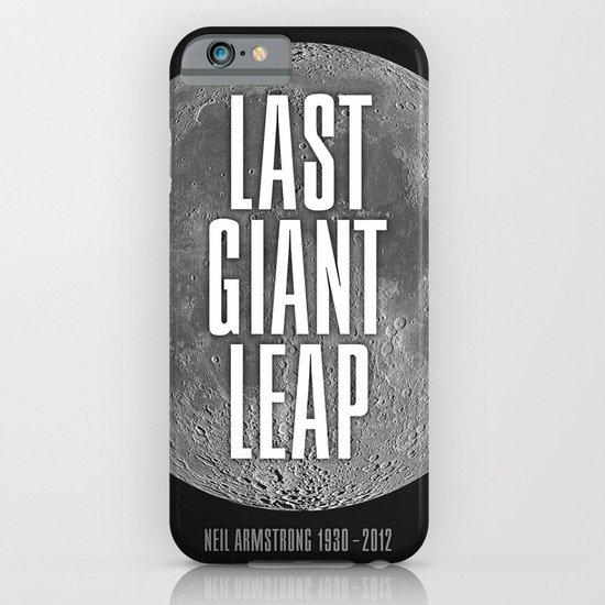 Last Giant Leap iPhone & iPod Case