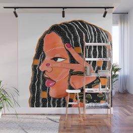 Queen Cleopatra. Wall Mural