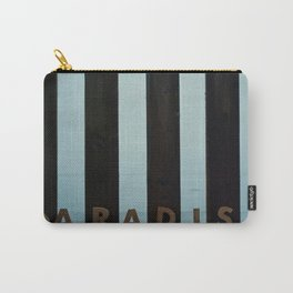 "Woodblock Series, ""Paradise"" Carry-All Pouch"