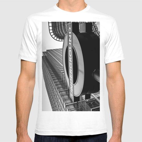 Canary Wharf  Underground T-shirt