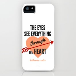 the EYES & the HEART iPhone Case