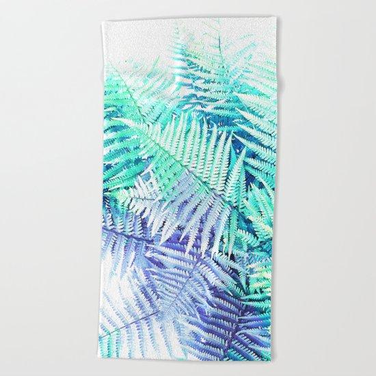 Wild Fern Jungle Beach Towel