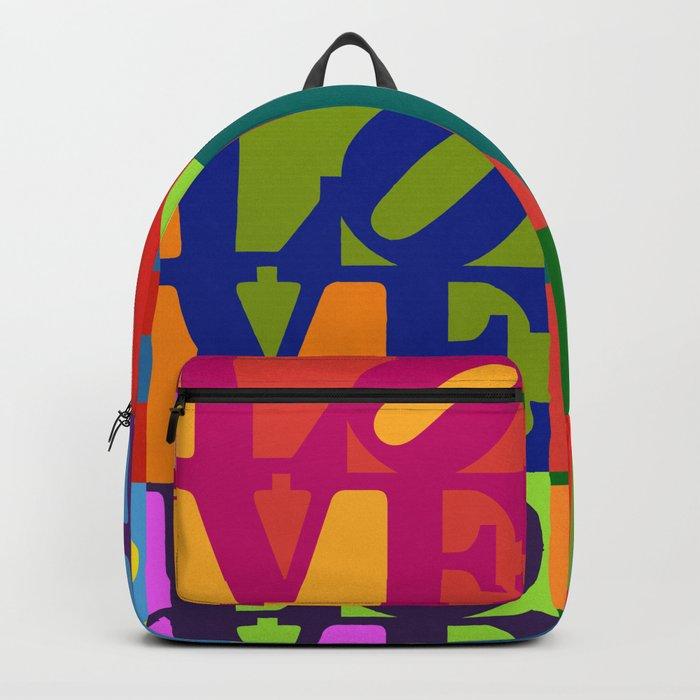 Love Pop Art Backpack