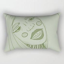 Behave, Miss Green. Rectangular Pillow