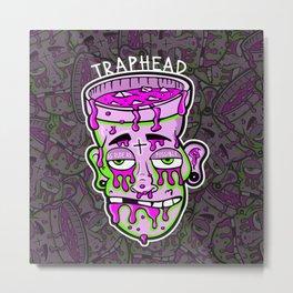 Trap Head Metal Print