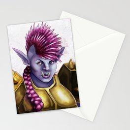 Raknida the Orcish Warrior Stationery Cards