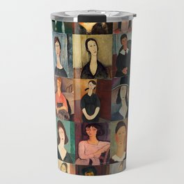 Amadeo Modigliani Montage Travel Mug