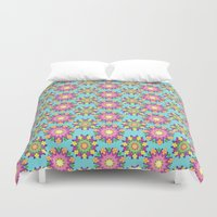 blossom Duvet Covers featuring Blossom by Shelly Bremmer
