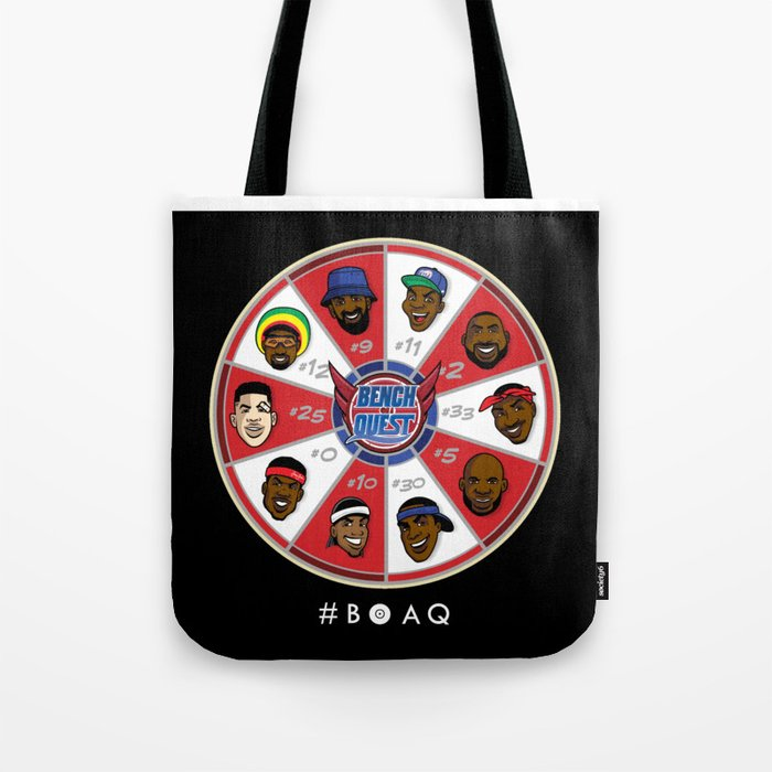 B*O*A*Q: Bench On a QUEST Tote Bag