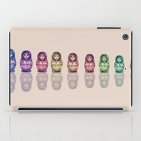 russia iPad Cases featuring Russia by Galvanise The Dog