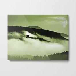 Mystical fog Metal Print
