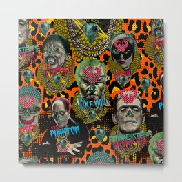 The Monsters Metal Print