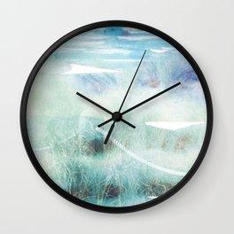 New Zealand Beachscape Wall Clock