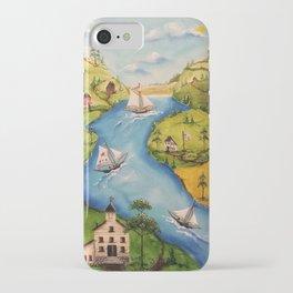 Hudson Vally Regatta iPhone Case