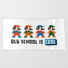 Mario Beach Towel