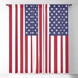Old Glory, the Stars and Stripes of the USA - America! Blackout Curtain
