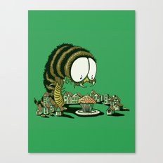 Huuungry! Canvas Print