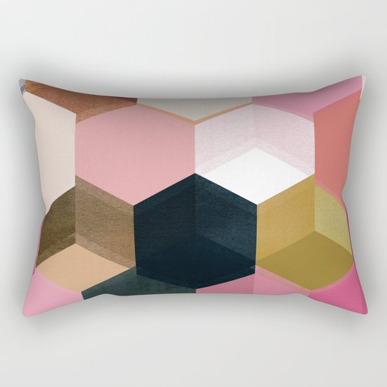 colour + pattern 17 Rectangular Pillow