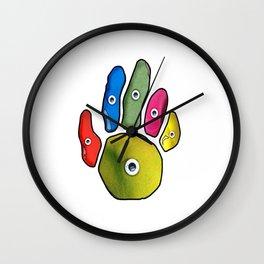 Climbing Hand Wall Clock