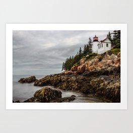 Bass Harbor Lighthouse - Acadia National Park Art Print
