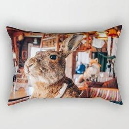 Down the Rabbit Hole   Grossglockner, Austria Rectangular Pillow