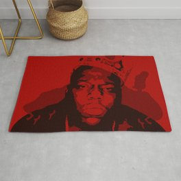 The Notorious BIG: King OF Brooklyn Rug
