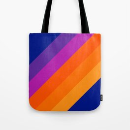Simple Stripes - Sapphire Tote Bag