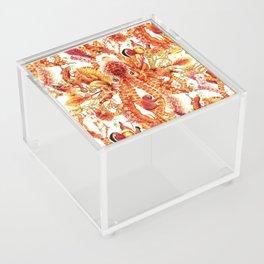 Tangerine Pattern Acrylic Box