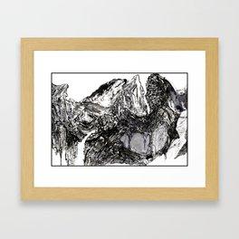 Yangtze River Shirt Framed Art Print