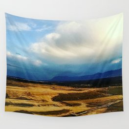 Blue Rockies Wall Tapestry