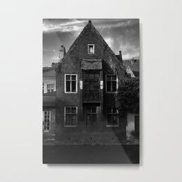 shot on iphone .. canal house Metal Print