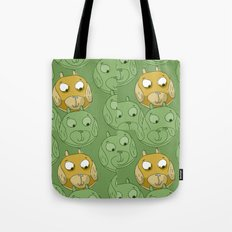 Dog Balls Tote Bag