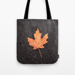 Maple Leaf Photography Print Tote Bag