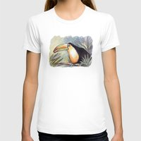 toucan T-shirts featuring Toucan by Julie Lemons