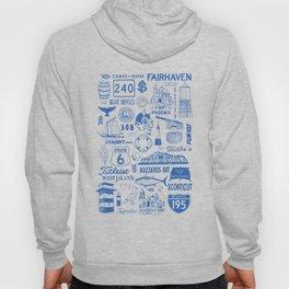 Fairhaven Massachusetts Print Hoody