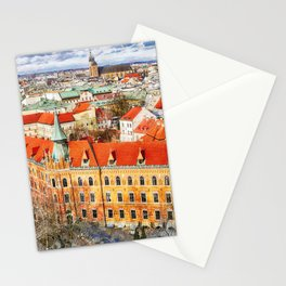 Cracow art 14 #cracow #krakow #city Stationery Cards