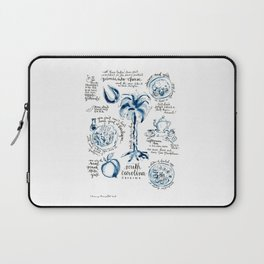 SC Cuisine Blue-and-White Laptop Sleeve