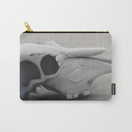 Charcoal Skull Carry-All Pouch