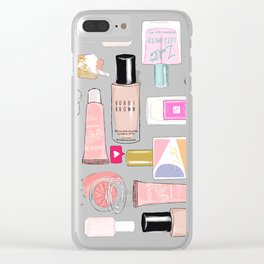 The Beauty Faves Clear iPhone Case